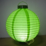 "12"" Grass 12 LED Round Paper Battery Lantern"