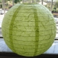 "12""&16""Light Lime handmade paper lantern"