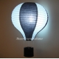 "14"" Black with white dot Air Balloon Paper Lanterns"