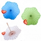Six Scalloped Parasols wholesale(100 of case)