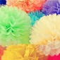 "6"" Tissue Paper Pom Poms Ball wholesale-(360 of case)"