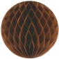 "12"" Brown Paper Honeycomb Lanterns"